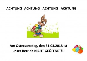 Ostersamstag